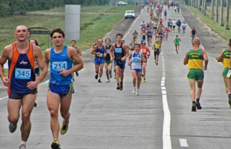 Як Кернес на велобайку став марафонцем (ФOТОРЕПОРТАЖ)