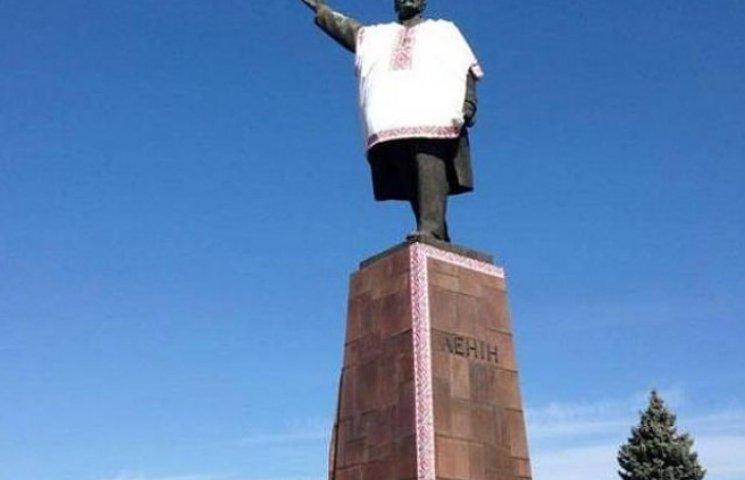 Артюшенко хоче здати запорізького Леніна в АТО