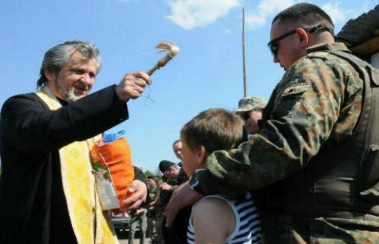 Великдень на передовій Луганщини: напередодні там були обстріли (ФОТОРЕПОРТАЖ)