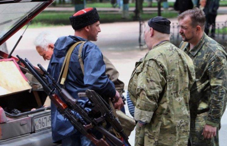 """Бойовики """"ЛНР"""" знищили """"Казачу  гвардію"""" Козіцина"""