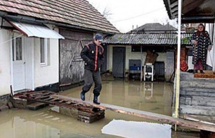 На Закарпатті 22 села під загрозою підтоплення