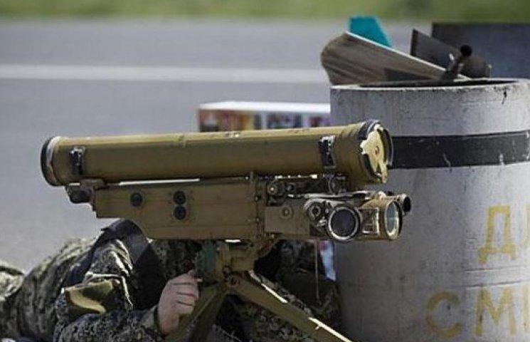 """Бойовики 31 раз гатили із """"забороненої"""" зброї по силах АТО та мирному населенню (ВІДЕО)"""