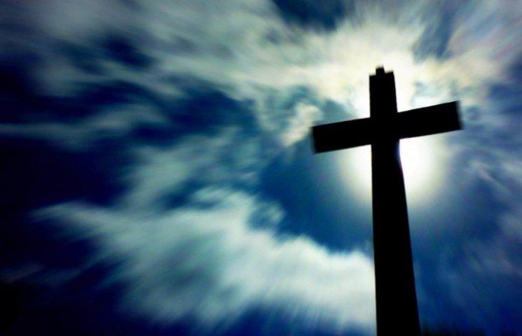 У Запоріжжі встановили пам'ятний хрест на місці поховання невідомих бійців АТО