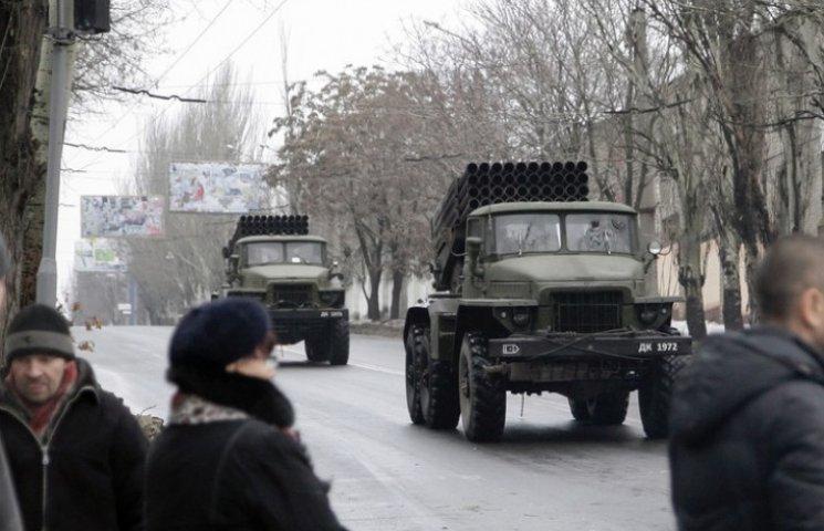ОБСЄ: Важкі озброєння терористів зникли з місць зберігання