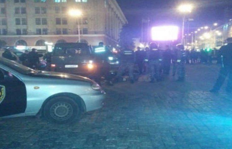 У центрі Харкова - погоня зі стріляниною (ФОТО)