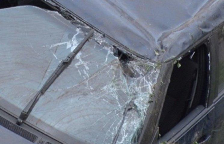 Під Ужгородом легковик зіткнувся з трактором (ФОТОФАКТ)