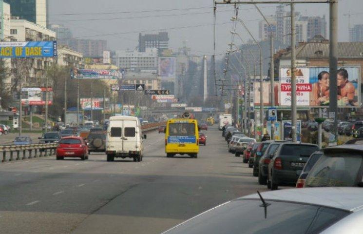 У Києві частину проспекту Перемоги перекриють до кінця літа