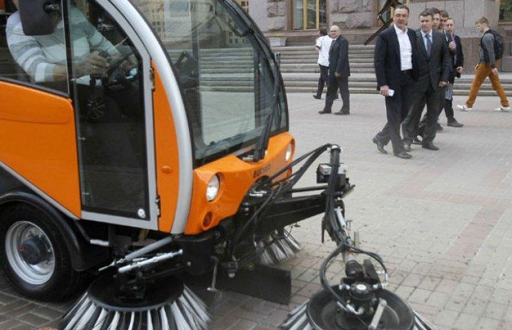 Кличко витратить 60 мільйонів на прибирання вулиць