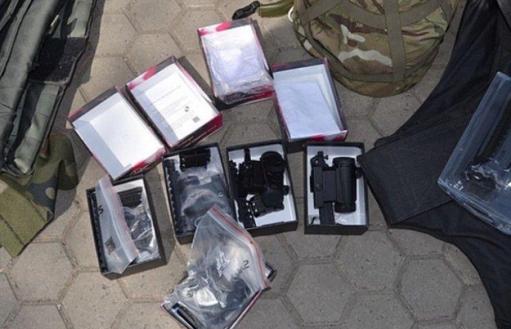 Міліція підтвердила факт затримання бійця, який хотів продати бронежилет (ФОТОФАКТ)