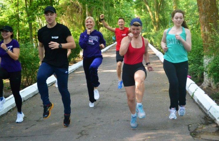 Запорожців запрошують на пробіжку по Хортиці