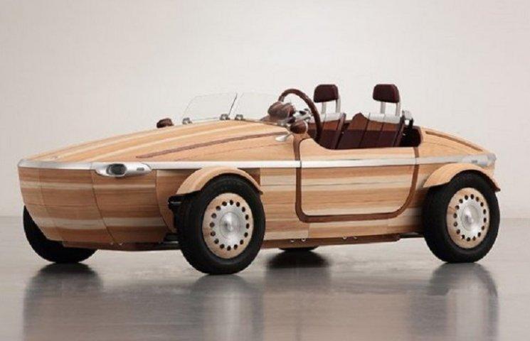 Toyota выпустила причудливое деревянное авто