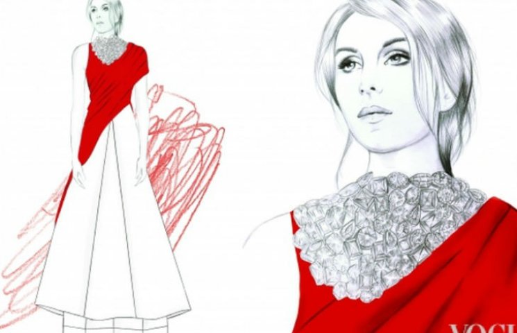 В Інтернет потрапили ескізи сукні Джамали для Євробачення
