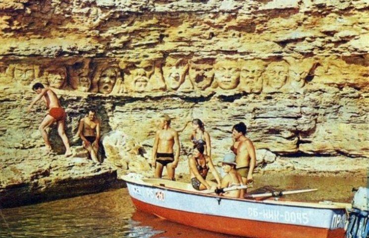 Стерті морем загадкові барельєфи острову Березань