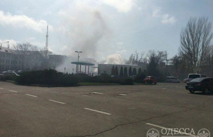 В Одесі сталася пожежа в магазині