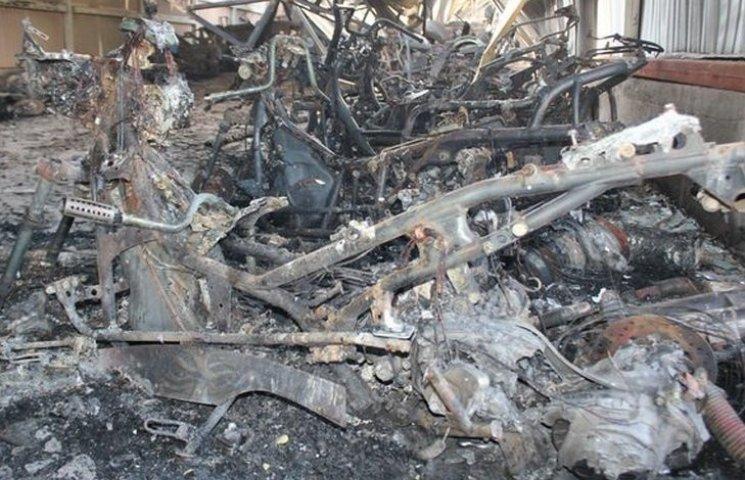 Власник згорівшого мото-ангару заявляє про збитки у сім мільйонів