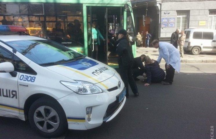В Одесі поліцейські збили жінку