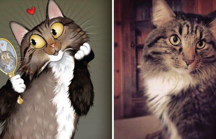 Як художник неймовірно зображує тварин з описів їхніх власників