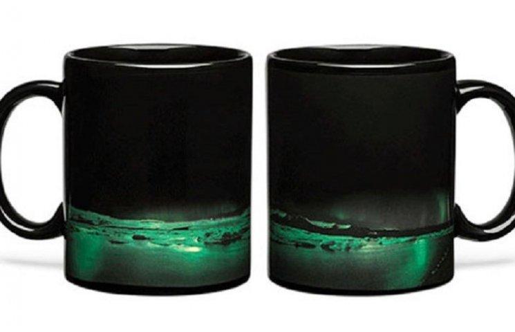 Как выглядят невероятно крутые чашки с Северным Сиянием