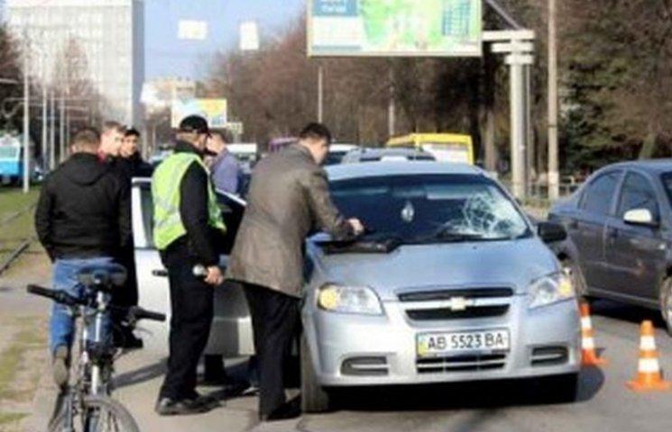 Заступниця мера Вінниці потрапила в аварію