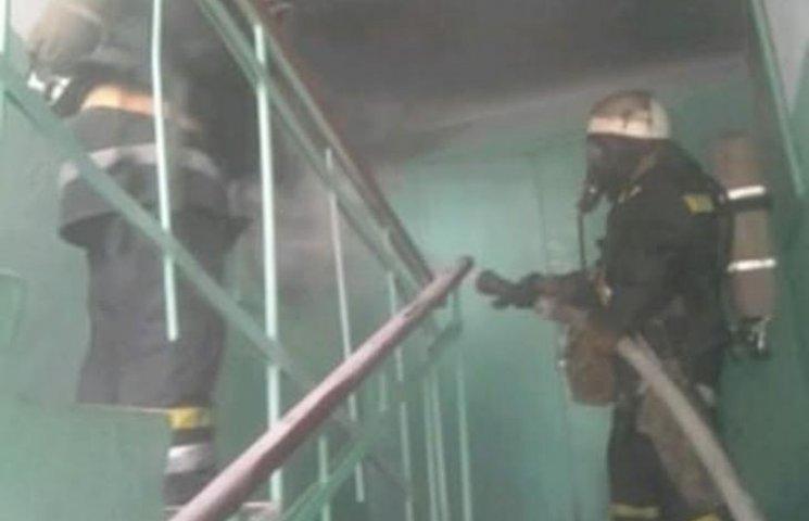 У Миколаєві через пожежу в гуртожитку евакуювали 45 мешканців