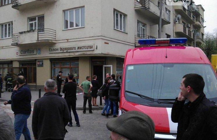 В центре Ивано-Франковска прогремел взрыв