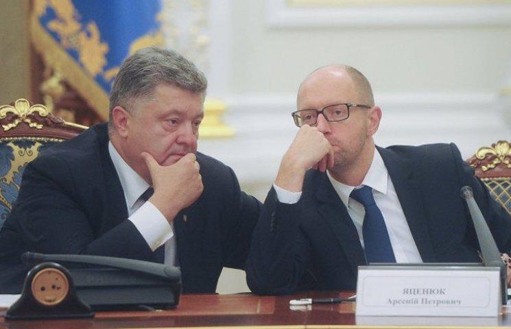 Яценюк загоняет Порошенко в цейтнот и повышает ставки