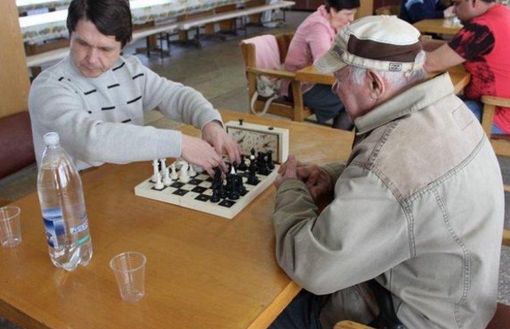 У Вінниці відбувся шаховий турнір для незрячих