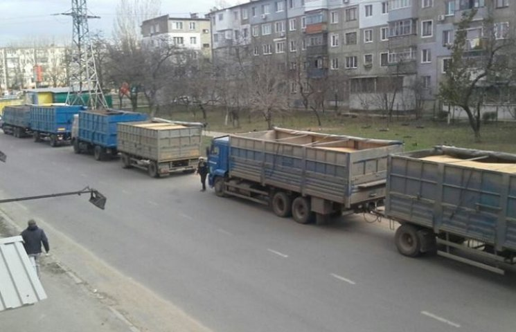 У Миколаєві будуть штрафувати фури, які розвели свинство в Інгульському районі