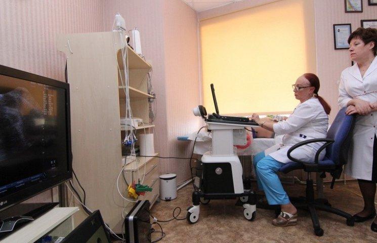 Пацієнтів Дніпропетровської області лікуватимуть по телевізору