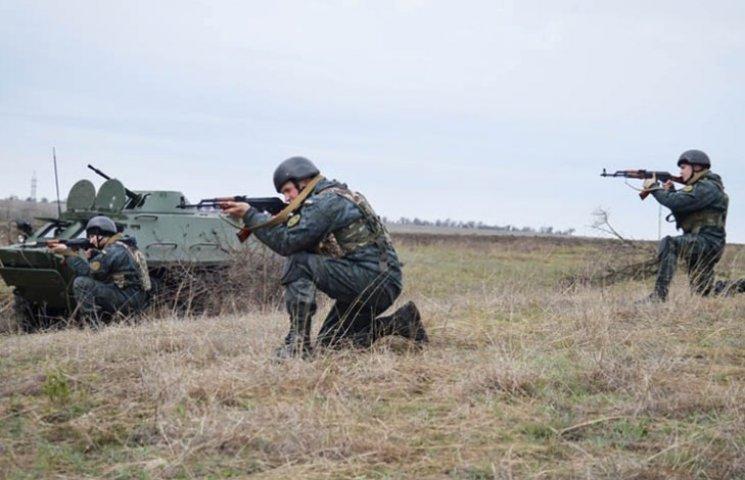 Миколаївські нацгвардійці провели ротні тактичні навчання