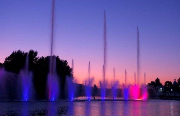 На відкритті музичного фонтану у Вінниці обіцяють влаштувати Євробачення