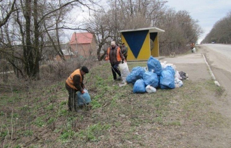 Вінничани прибрали тисячу смітників