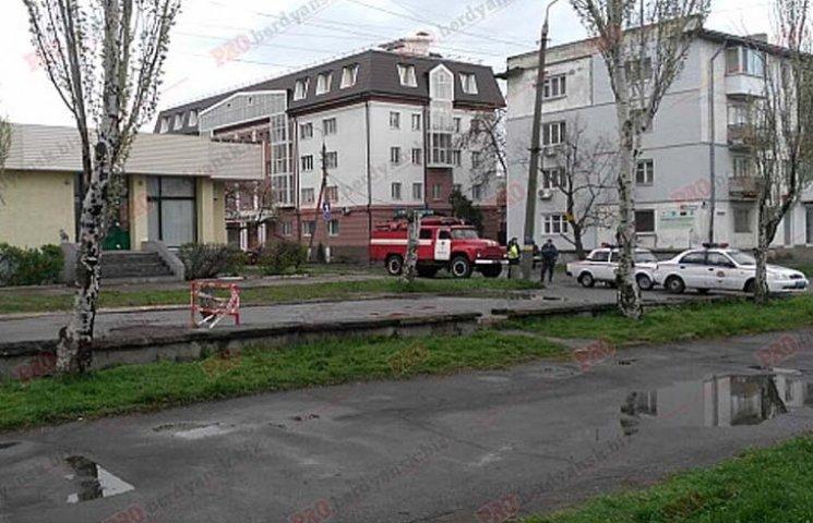 Повідомлення про мінування Ощадбанку в Бердянську виявилося хибним