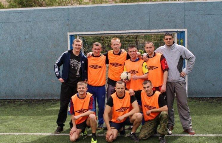 Миколаївські патрульні влаштували футбольний турнір