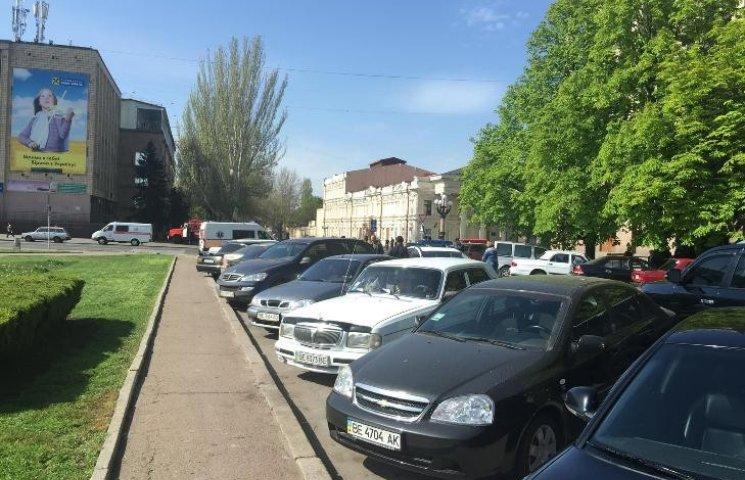 У Миколаєві замінували міськраду: зловмисники вимагають переобрання нардепів