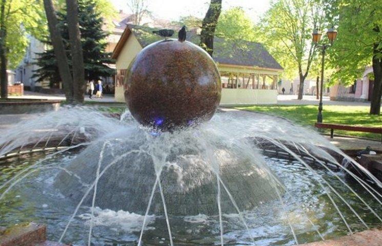 В Виннице начался сезон фонтанов
