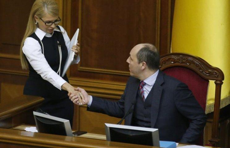 Парубій переграв Тимошенко в історії з науковцями