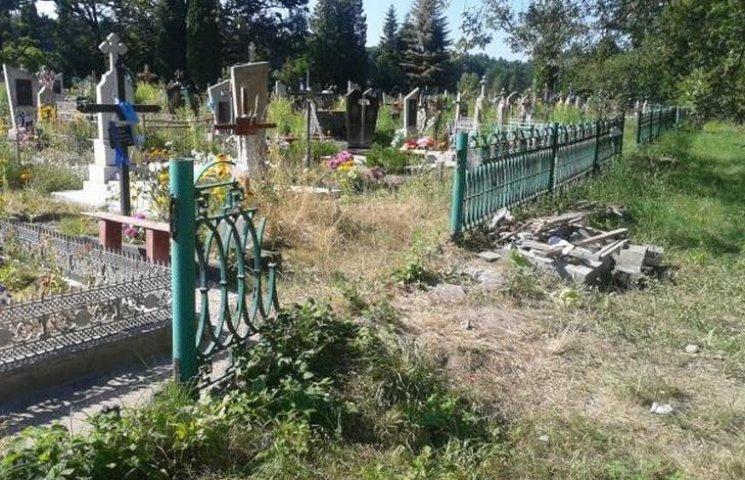 """На Вінниччині вандал """"обчищав"""" кладовища"""
