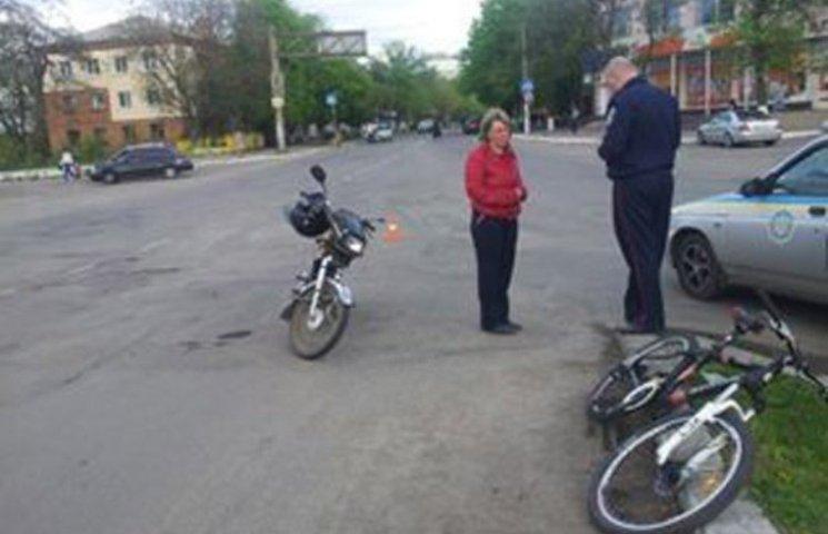 На Миколаївщині мопедист збив підлітка на велосипеді