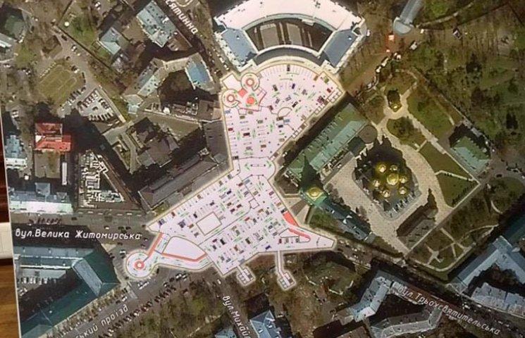 Почему Кличко все равно построит паркинг на Михайловской