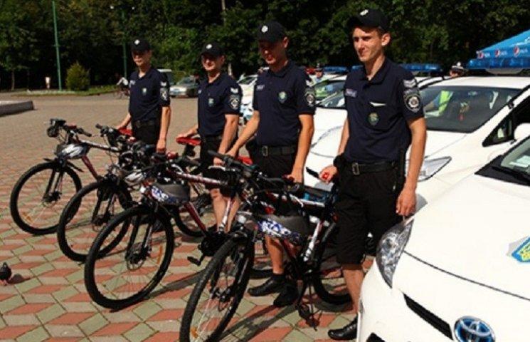 Дніпропетровські поліцейські чергуватимуть на велосипедах
