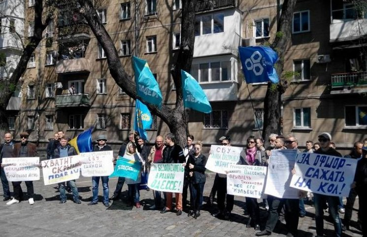 Під одеською СБУ вимагають арешту Труханова