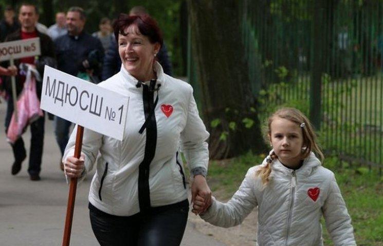 Вінничани бігли заради допомоги хворим дітям