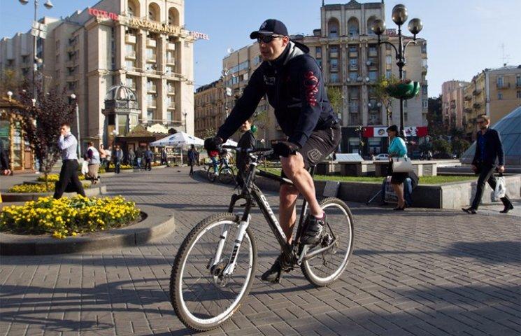 Велосипед Кличко за 2 миллиарда гривен