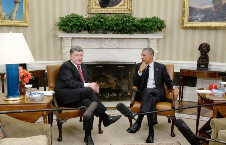 """Порошенко тычет в глаза Обаме с Меркель """"вооруженными полицейскими ОБСЕ"""""""
