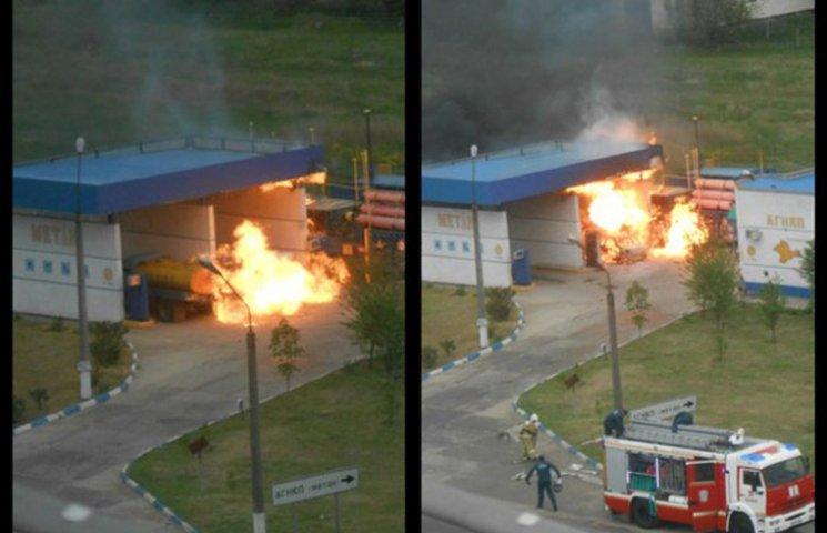 В Крыму прогремел взрыв на автозаправке: Трое погибших