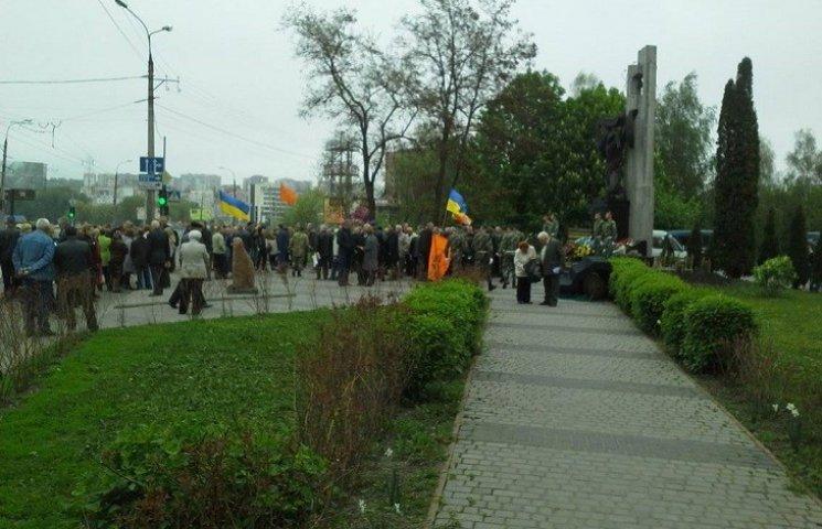 У Хмельницькому вшанували героїв-чорнобильців