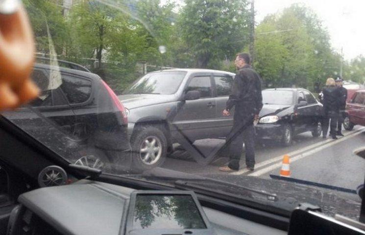 У Вінниці знову аварія  з п