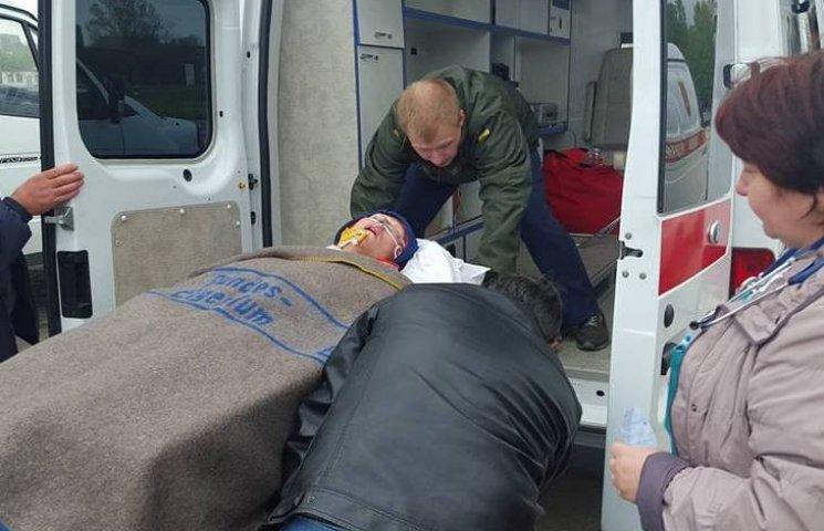 В Одесу прибув борт з 14 пораненими бійцями з зони АТО