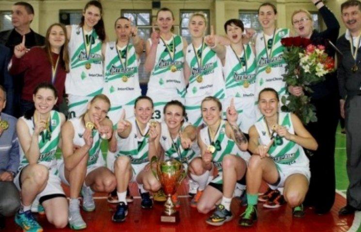 Одеський жіночий баскетбольний клуб вперше став чемпіоном України